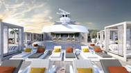 """""""The Retreat"""" is an ultra-exclusive private utopia reserved exclusively for Suite Class guests featuring a luxurious pool and sun chairs for ultimate relaxation. Photo: Celebrity Cruises"""