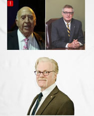 Clockwise (from top left) Arthur E. Imperatore, Christopher Wiernicki, and Donald Marcus, Photo USS