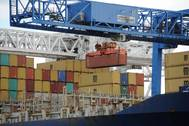 File Image: Container operations underway in port (CREDIT: port of Boston)