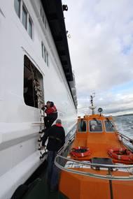 Cork Pilot disembarking  (Photo: Bureau Veritas)