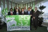 Green Flag Representatives: Photo courtesy of Port of Long Beach