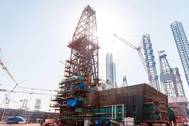 Lamprell Rig Under Construction (Photo: Cathelco)