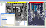 AVEVA Laser Modeler allows for simple selection of catalog components while modeling.