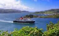 MV Isle of Mull leaving Oban Bay (Photo: CalMac)
