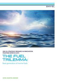 DNV GL's position paper analyses the affordability, sustainability, safety and the reliability of future fuels (Image: DNV GL)