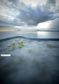 Johan Sverdrup field in the North Sea (rendering: Statoil)