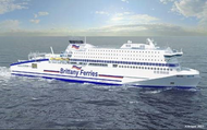 'Full Picture' contract for Brittany Ferries' new RoPax ferry 'Honfleur'  (Photo: Kongsberg)
