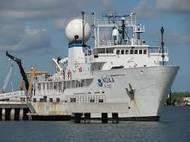 Okeanos Explorer: Photo credit NOAA