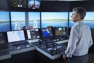 The simulator upgrade at the University College of Southeast Norway will support a wider course offering and new R&D projects (Photo: Kongsberg)