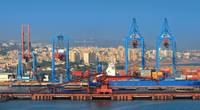 Visakhapatnam port is a second largest port by cargo handled in India. (Image Credit: AdobeStock / © SNEHIT)