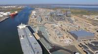 File Image: A VLCC loads alongside in the port of Corpus Christi, Texas (CREDIT: Port of Corpus Christi, Texas)