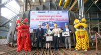 Damen holds keel-laying for Port of Auckland's fully electric RSD-E Tug 2513 (1) LR.jpg