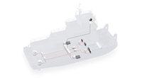 Concept illustration of a push boat powered by fuel cell system (Image: ABB)
