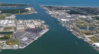 The GTT USA Terminal at Port Canaveral. FL
