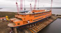 The OLLIS Class: is a new class of vessels being built for Staten Island Ferries by Eastern Shipbuilding Group. Photos: Staten Island Ferries/ESG