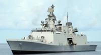 Indian Navy P17 frigate (Photo courtesy of GE Marine)