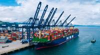 HMM Algeciras has taken the title of world's largest containership. (Photo: YICT)