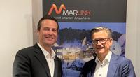 L-R: Samer Halawi, Intelsat's Executive Vice President, Chief Commercial Officer and Erik Ceuppens, Chief Executive Officer, Marlink Group. (Photo: Marlink)
