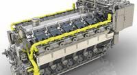 MAN 51/60DF engine (Image: MAN Energy Solutions)