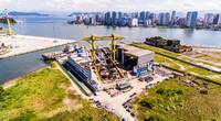 Wilson Sons will start in the first quarter of 2021 the construction of six tugboats, at its shipyards in Guarujá (SP). Photo courtesy Wilson Sons