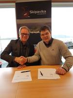 Semco Maritime and Skipavika signing (Photo: Semco Maritime)