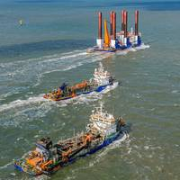 ABB Turbocharging will provide maintenance support and optimisation across Van Oord's dredger fleet (copyright Van Oord)