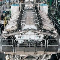 12V48 60CR Diesel Engine: Image courtesy of MAN