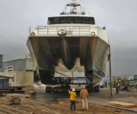 134-feet multi-mission, survey catamaran for Lafayette, Louisiana-based, C&C Technologies.