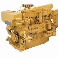 3406C Marine Diesel Engine: Image courtesy of Caterpillar Marine