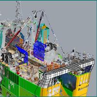 3D model overlayed with vessel scan (Image: EBDG)