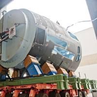 410-ton Module at SMOF: Photo courtesy of HII