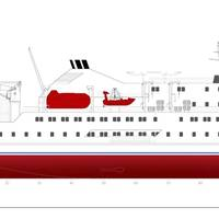 500 Pax cum 150t Cargo Vessel (Concept) (Photo: KEH)