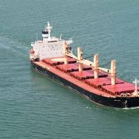 52,434 dwt supramax bulk carrier Star Delta (Photo courtesy of Star Bulk Carriers)