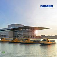 5xDamen Ferry 2306E3 (Photo: Damen Shipyards)