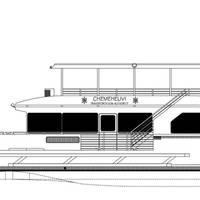 65' passenger catamaran for the Chemehuevi Transit Authority of Lake Havasu, California.