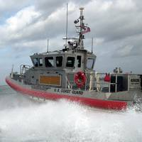 A  45-foot response boat-medium (File photo: U.S. Coast Guard)