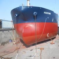 A Euronav tanker in Drydock. Credit: Euronav