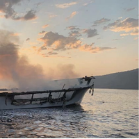 A fire aboard the 75-foot dive boat Conception killed all 33 passengers and one of the vessel's six crew members in September 2019. (Photo: Ventura County Fire Department)