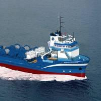 A Harvey Gulf Vessel: Photo courtesy of Harvey Gulf