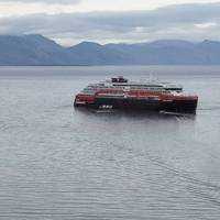 A Hurtigruten ship (File Photo: Hurtigruten)
