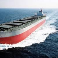 A 'K'-Line Bulk Carrier: Photo credit 'K'-Line