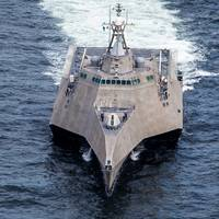 A littoral combat ship built by Austal (photo courtesy of Austal)