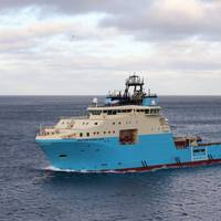 A Maersk Supply Service offshore vessel