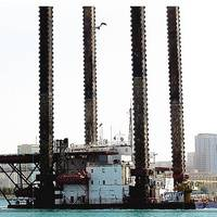 A MOS jackup rig: Image courtesy of MOS Group