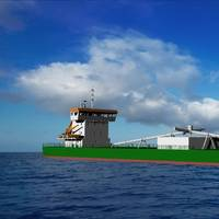 A new cement carrier for JT Cement will feature a 6-cylinder Wärtsilä 34DF main engine, making it the first bulk carrier to adopt Wärtsilä's multi fuel capability.