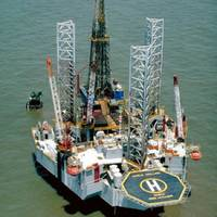 A Noble Corp. Jackup Rig: Photo courtesy of Noble Corp.