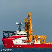 A PLSV delivered to Petrobras by  Seadrill-Sapura JV - Credit: Hans Hausmann/MarineTraffic