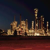 A refinery in the port of rotterdam (File image / CREDIT: Exxon)