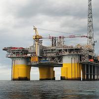 A STatoil rig in the North Sea (Photo courtesy of Statoil)
