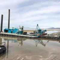 A U.S. built dredge in action on inland waters. (CREDIT: DSC Dredge)